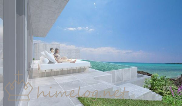 『D'sgrow resort Infinity Pool Villa TOGUCHINOHAMA』の客室